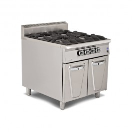 Gas Ranges with Cupboard