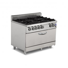 Gas Range with Big Oven